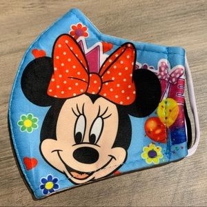 NWOT Minnie Mouse Face Mask